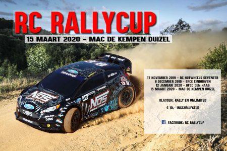 Afgelasting Rallycup 15 maart 2020